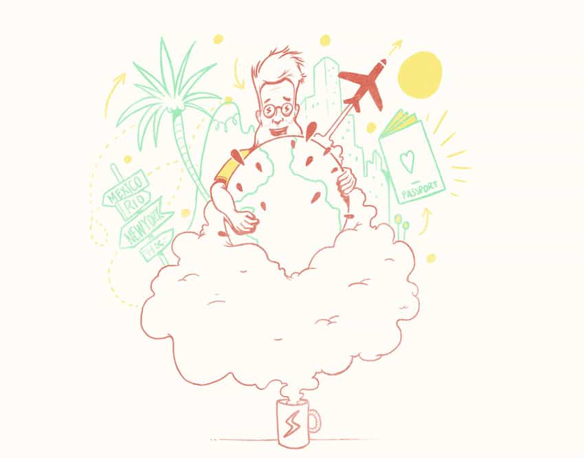 freelance à l'étranger